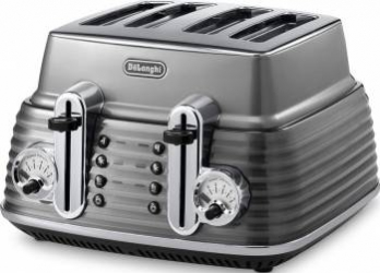 Toaster DeLonghi CTZ 4003.GY 1800W Gri Prajitoare