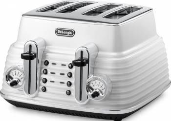 Toaster DeLonghi CTZ 4003.W 1800W White Prajitoare