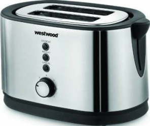 Prajitor de paine Westwood TA8069 1300W Alb Refurbished Prajitoare