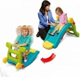 Tobogan pentru copii Grown Up Maxi Slide 2 in 1 cu balansoar Jucarii de exterior
