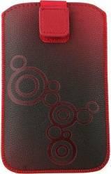 Toc Lux Samsung Galaxy S2/S Rosu Huse Telefoane