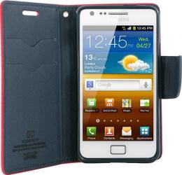 Toc My-Fancy Samsung Galaxy S2 i19100 Rosu cu albastru huse telefoane