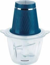 Tocator Charm Heinner HMC-300BL 300W 1.2L Lame inox Picioruse anti-alunecare Albastru Blendere si Tocatoare