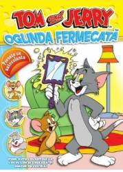 Tom si Jerry - Oglinda Fermecata - Poveste cu autocolante