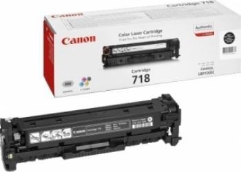 Toner Canon CRG-718 Negru LBP-7200CDN 3400 pag Cartuse Tonere Diverse