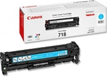 Toner Canon CRG-718 Cyan LBP-7200CDN 2900 pag Cartuse Tonere Diverse
