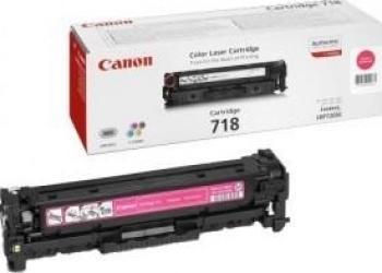 Toner Canon CRG-718 Magenta LBP-7200CDN 2900 pag Cartuse Tonere Diverse