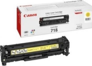 Toner Canon CRG-718 Galben LBP-7200CDN 2900 pag Cartuse Tonere Diverse