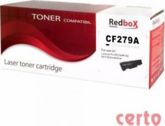 Toner Redbox CF279A Compatibil HP Laserjet PRO M12A Negru 1000 pag Cartuse Tonere Diverse