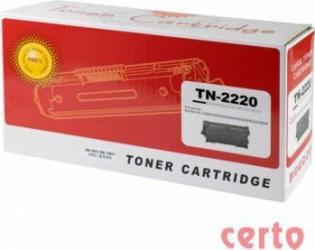 Toner Certo compatibil Brother TN2220GN 2600 pag Cartuse Tonere Diverse