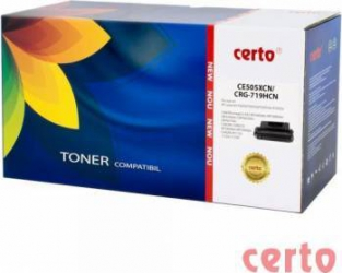 Toner Certo compatibil HP CE505X CRG-719H Cartuse Tonere Diverse