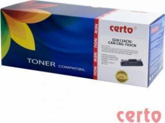 Toner Certo compatibil HP Q2612A Canon CRG-703 2000 pag Cartuse Tonere Diverse