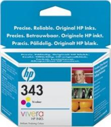Cartus HP 343 Tri-colour Inkjet Print Cartridge with Vivera Inks