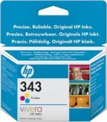 Cartus HP 343 Tri-colour Inkjet Print Cartridge with Vivera Inks