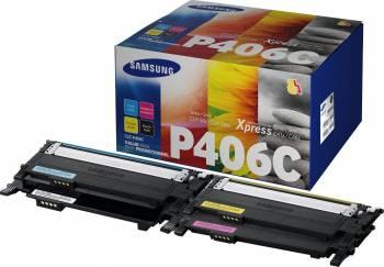 Toner Kit Samsung CLT-P406C CMYK Cartuse Tonere Diverse