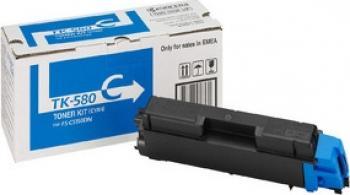 Toner Kyocera Mita TK-580 Cyan FS-C5150DN 2800 pag Cartuse Tonere Diverse