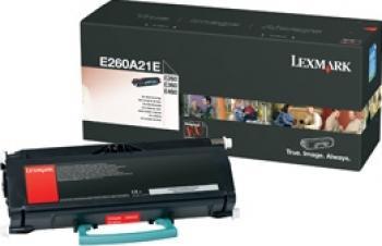 Toner Lexmark E26x E36x E460 Regular Cartridge 3.5K Cartuse Tonere Diverse