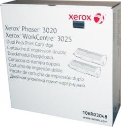 Toner XeroX Phaser 3020 WorkCentre 3025 2x1500 pag Dual Pack