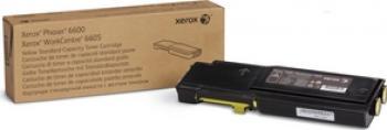 Toner Xerox Phaser 6600 Workcentre 6605 Galben 2000 Pag Bonus Hartie Copiator A4 Xerox