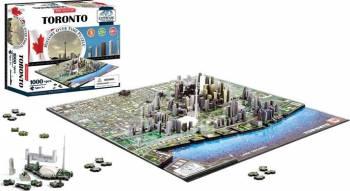 TORONTO Puzzle 4D Cityscape Jucarii Interactive