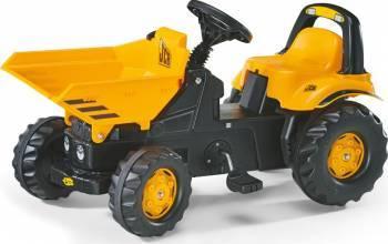 Tractor Cu Pedale Copii ROLLY TOYS 024247 Galben Masinute si vehicule pentru copii