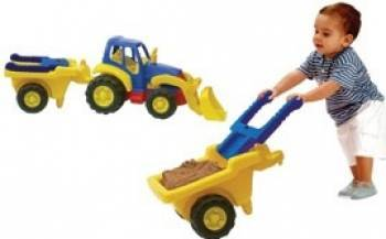 Tractor cu remorca roaba Miniland Machete