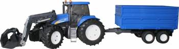 TRACTOR NEW HOLLAND + BONUS REMORCA