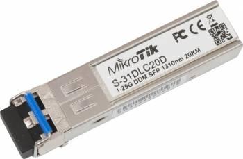 Transceiver Mikrotik S-31DLC20D SFP LX-LC SM 1.25G Transceivere