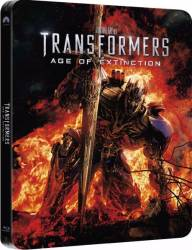 Transformers Age of Extinction BluRay 3D Steelbook 3 discuri 2014 Filme BluRay 3D