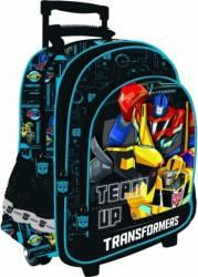 Ghiozdan Troler Transformers MJ0411 Ghiozdane si trolere