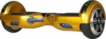 Hoverboard Nova Vento Hv6.5 Auriu Autonomie 20km Vehicule electrice