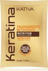 Masca de par Kativa Tratament Intensiv Hidratanta cu Keratina- 35 gr