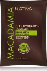 Masca de par Kativa Tratament Intensiv Hidratanta cu Ulei de Macadamia- 35 gr