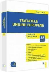 Tratatele Uniunii Europene Act. 25 Octombrie 2015