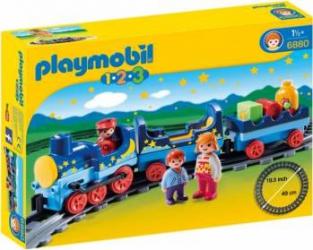 Tren de noapte cu pista PlayMobil Seturi de constructie