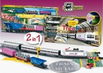Trenulet de jucarie Pequetren Renfe Train Plus Jucarii