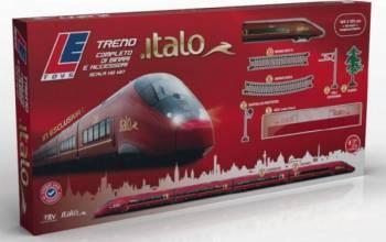 Trenulet Level cu baterii sine si accesorii Jucarii cu Telecomanda