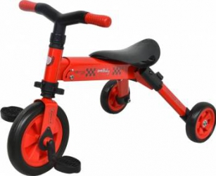 Tricicleta 2 in 1 Dhs B-TRIKE Red Triciclete