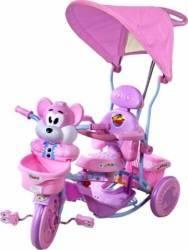 Tricicleta ARTI 2830AC - Roz Triciclete