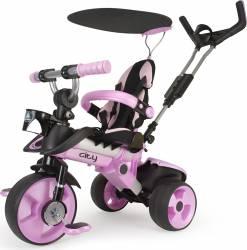 Tricicleta CITY PINK - Injusa Triciclete
