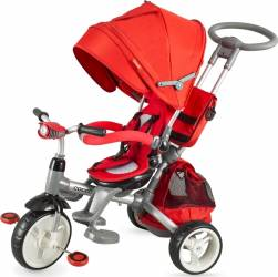 Tricicleta COCCOLLE Modi multifunctionala rosu Triciclete