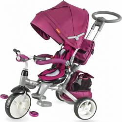 Tricicleta COCCOLLE Modi multifunctionala violet Triciclete