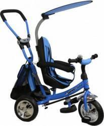 Tricicleta copii cu Scaun Reversibil Baby Mix Safari WS611 Albastru Triciclete
