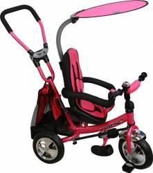 Tricicleta copii cu Scaun Reversibil Baby Mix Safari WS611 Pink Triciclete