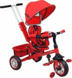 Tricicleta copii cu scaun reversibil Baby Mix UR-ETB32-2 Rosu Triciclete