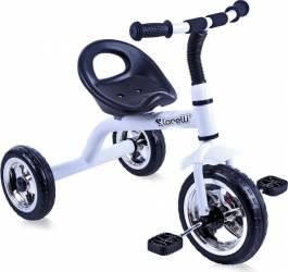 Tricicleta Copii Lorelli 3-5 ani A28 WHITE Triciclete