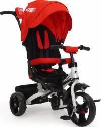 Tricicleta Copii Moni Continent Rosu Triciclete