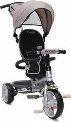 Tricicleta Copii Moni Flexy Beige