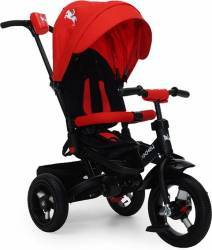 Tricicleta Copii Moni Jockey Rosu Triciclete