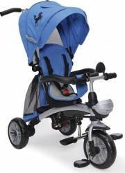Tricicleta Copii Moni Mustang Albastru Triciclete